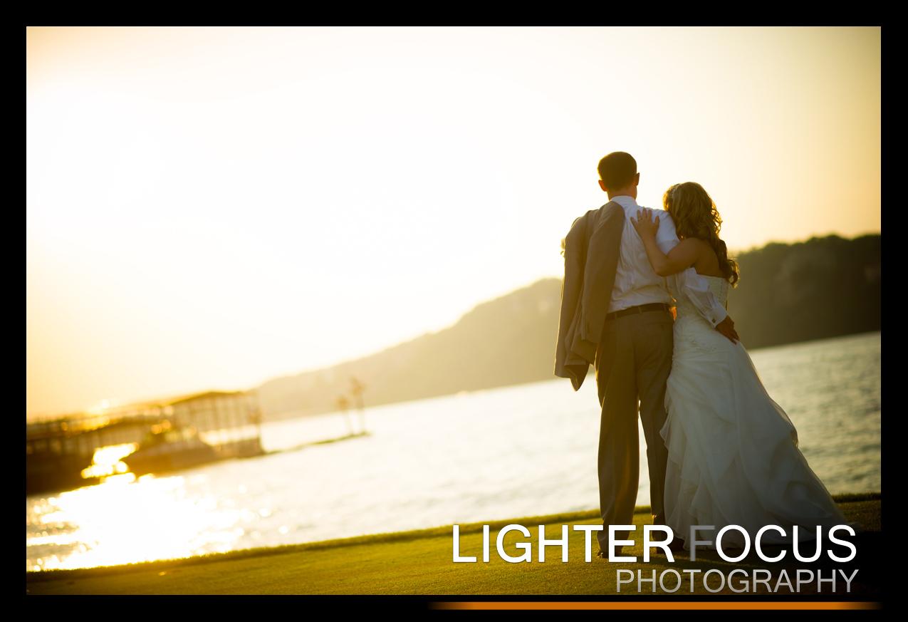 Lake of the Ozarks wedding ~ Porto Cima golf club ~ Lighter Focus Photography