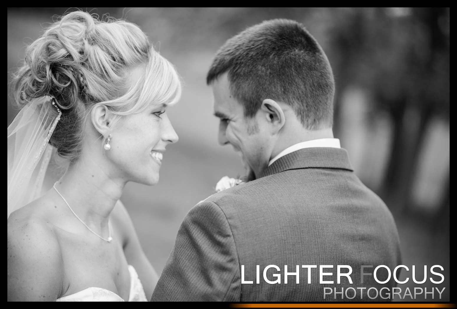Tyler & Kaley's romantic wedding at the Red Barn Estates