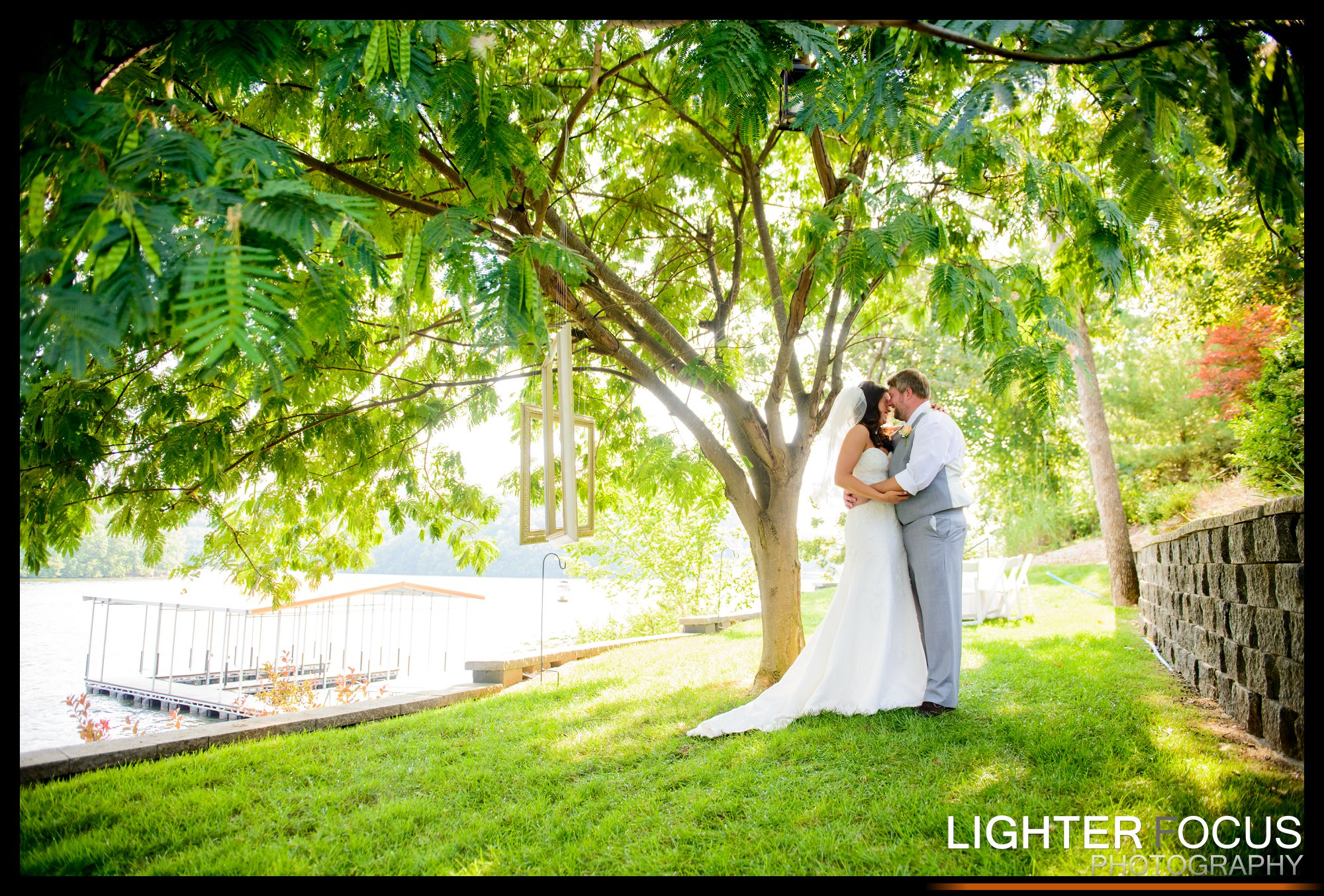 Brian & McKenzie | Lake of the Ozarks Wedding | Lighter Focus