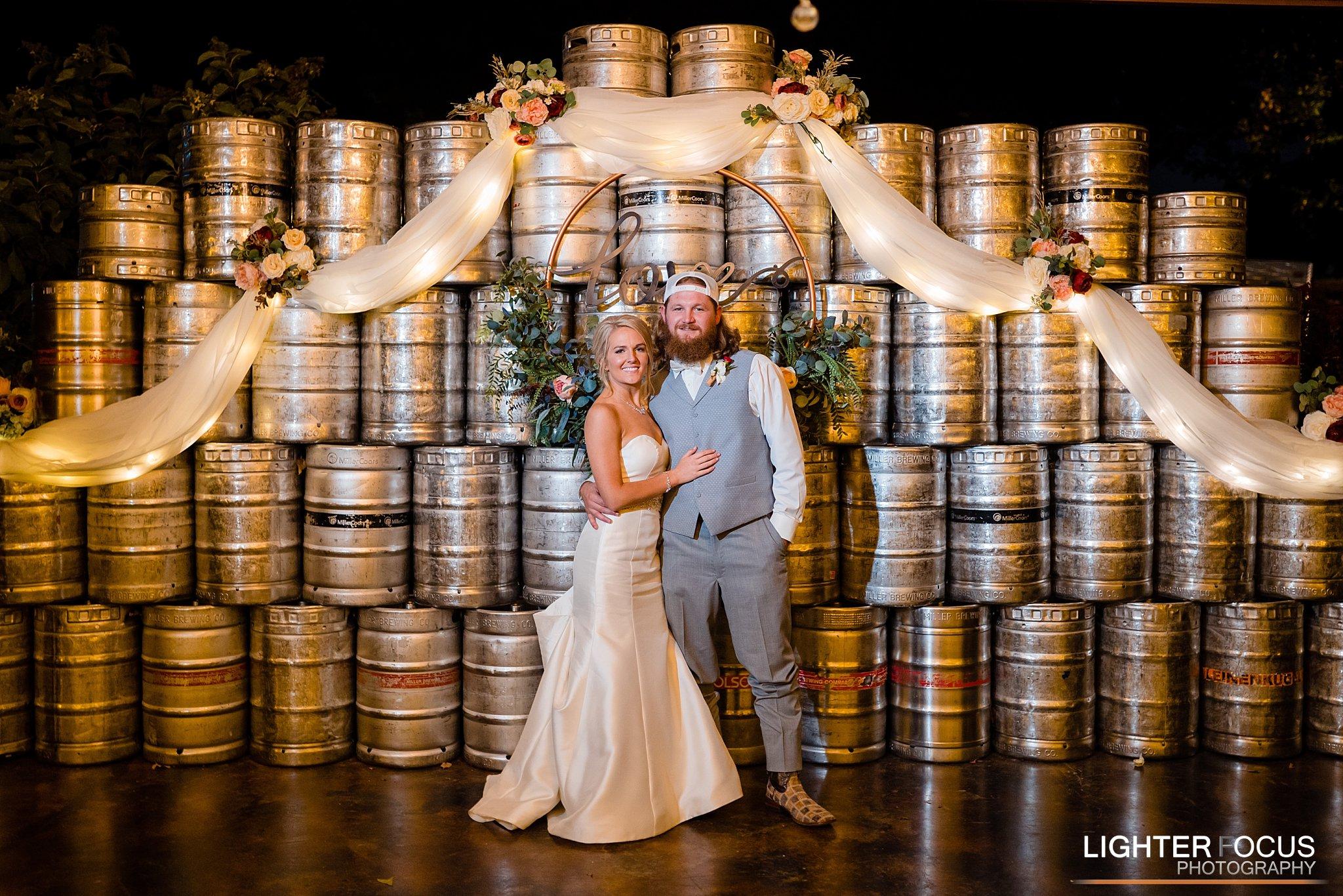 Wedding Keg Wall
